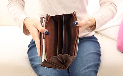 【生活】空になった財布